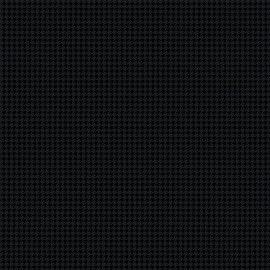 Tricoline Pied de Poule preto 50cmX1,40largura