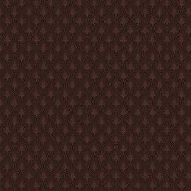 Tricoline Leque café 50cmX1,40largura