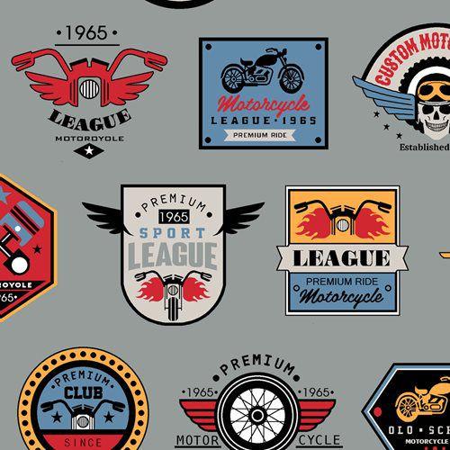 Tricoline clube dos motociclistas 50cmX1,40largura