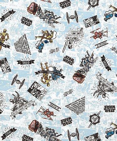 Tecido Decoração Starwars  50cmX1,40largura