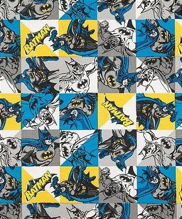 Tecido Decoração Batman  50cmX1,40largura