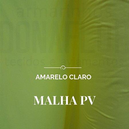Malha PV  Amarelo Claro 50x1,80m de largura - pequenos defeitos