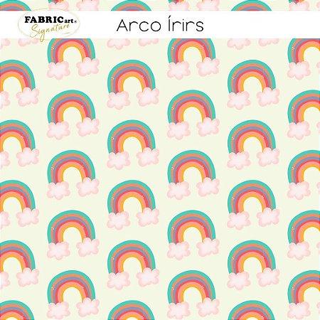 Tricoline Arco-iris  50cmX1,40m largura