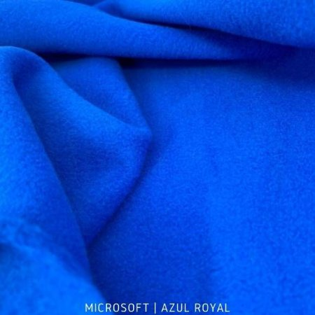 Microsoft Liso Azul Royal 50cm X 1,60m