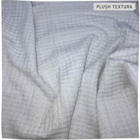 Plush Textura Quadradinho Muffim 50x1,70M