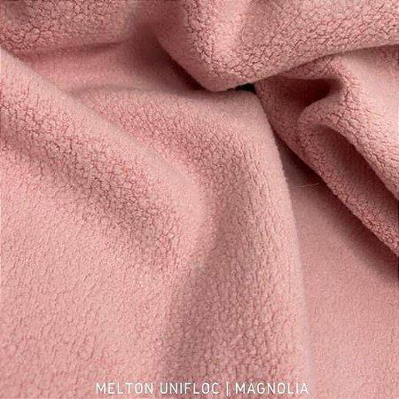 Melton - Unifloc Rosa Magnólia| 50cm x 1,60m