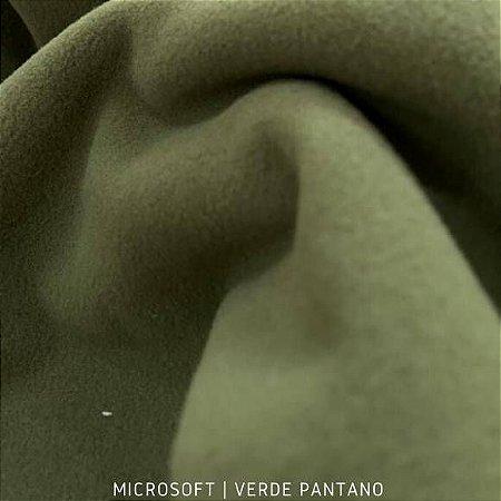Microsoft Verde Pantano tecido Hipoalérgico 50cmX1,60m