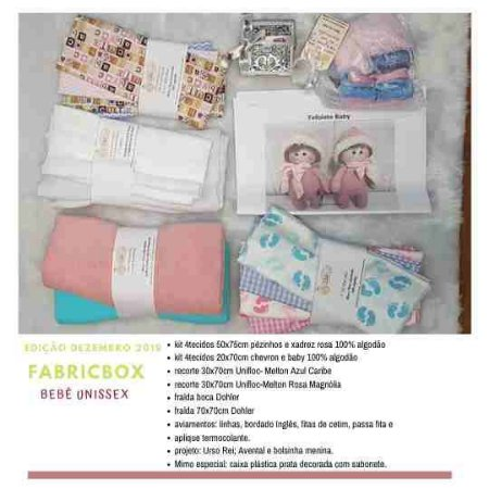 FABRICBOX Bebê Unissex DEZ19