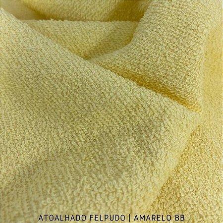 Atoalhado  Felpudo Amarelo bebe 50cmx1,40m