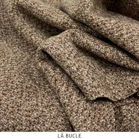 Tecido Lã Bucle Rose  50cmx1,50m