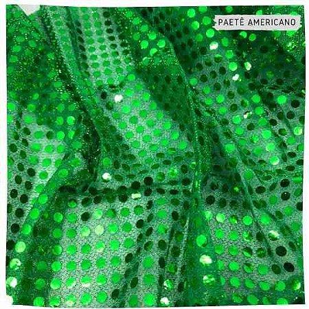 Paetê Americano Verde  50x1,10m