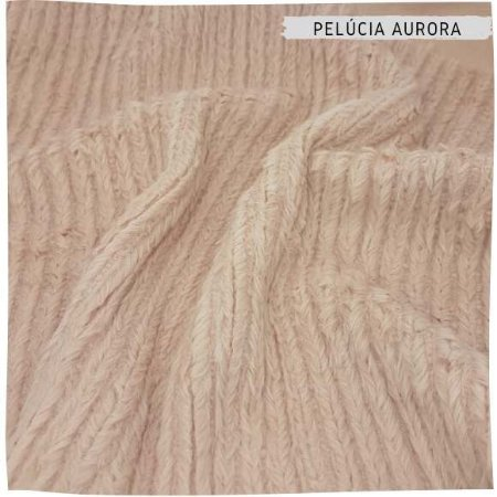 Pelúcia Aurora Rosa 50x1,50m