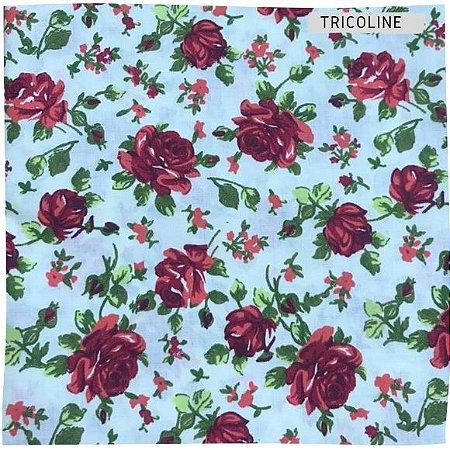 Tricoline Rosa Vermelho   50X1,40 M