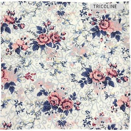 Tricoline Rosa Delicadas  50X1,40 M