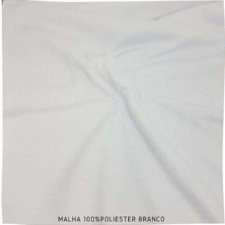 Malha 100% Poliéster Branca 50cm x 2,40m (tubular)