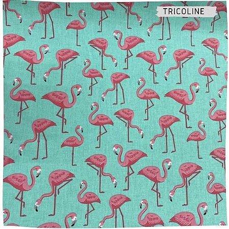 Tricoline Flamingo 50cmX1,40m largura