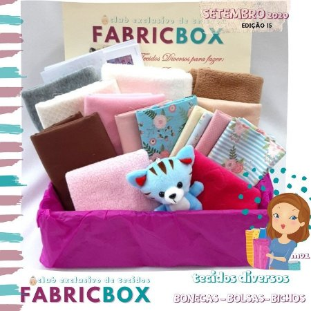 FABRICBOX SET20 Tecidos Diversos