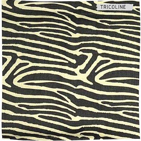 Tricoline Safari Zebra 50cm x 1.50m largura