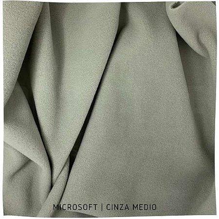 Microsoft Liso Cinza Médio 50cmX1,60m
