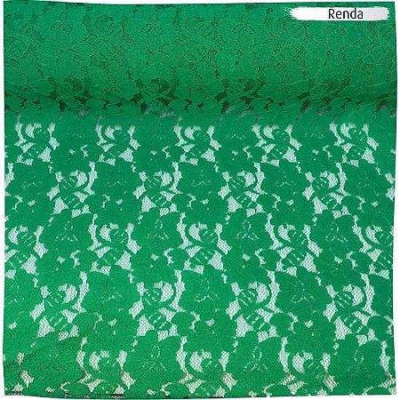 Renda Elastano Verde Bandeira 50cm x 1,50m
