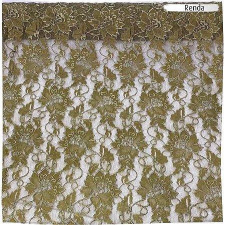 Renda Verde Musgo 50cm x 1,40m