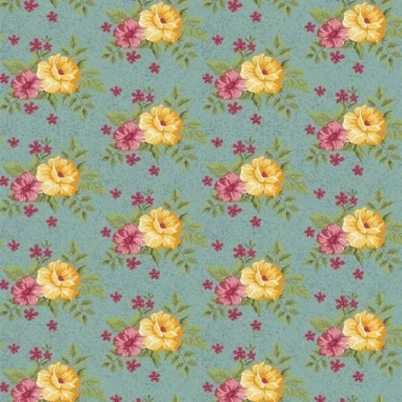Tricoline Flower Tiffany 50cm x 1.50m largura