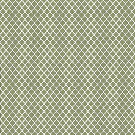 Tricoline Vitral Verde 50cm x 1.50m largura