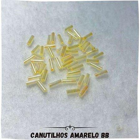Canutilhos Com Furo Amarelo bb 0,7mm