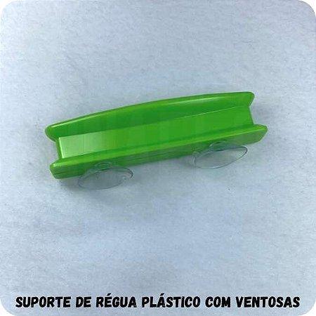 Suporte de Régua Plástico com Ventosas