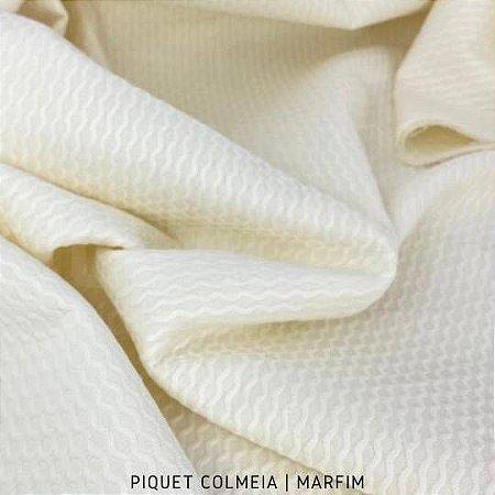 Piquet Colmeia Marfim 50cmx1,45m cada