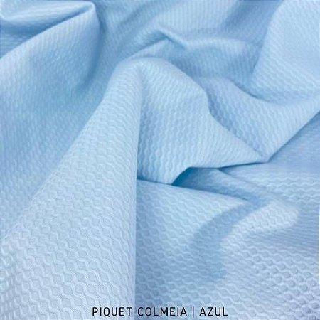 Piquet Colmeia Azul   50cm x 1,45m