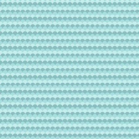 Tricoline Mar Azul 50cm x 1.50m largura