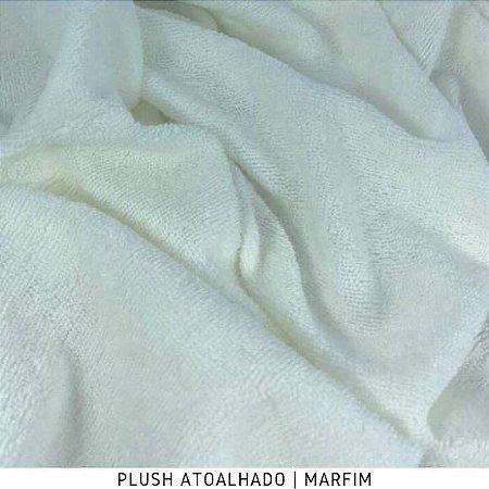 Plush Atoalhado Marfim 50cm x 1,70m