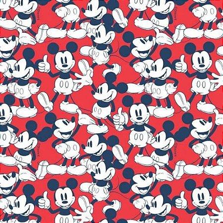 Tricoline Mickey 50cm x 1.50m