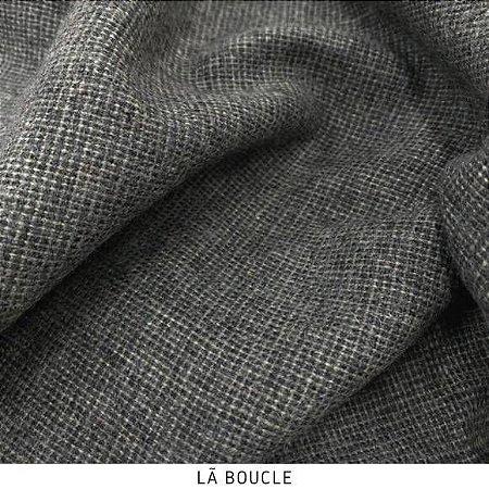Tecido Lã Boucle Cinza 50cmx1,50m