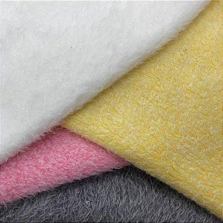Kit Pelúcia Pettenati tecidos de Punho para Meias e Sapatinhos, 4Recortes