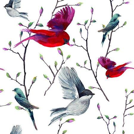 Papel de Parede Adesivo Birds in Nature