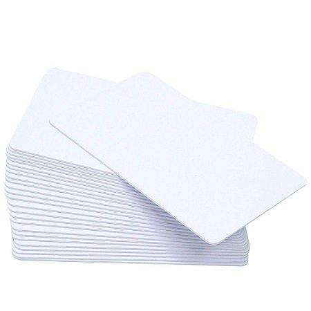 Cartão PVC Branco Para Crachá