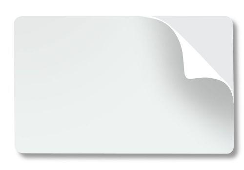 Cartão Adesivado Para Crachá