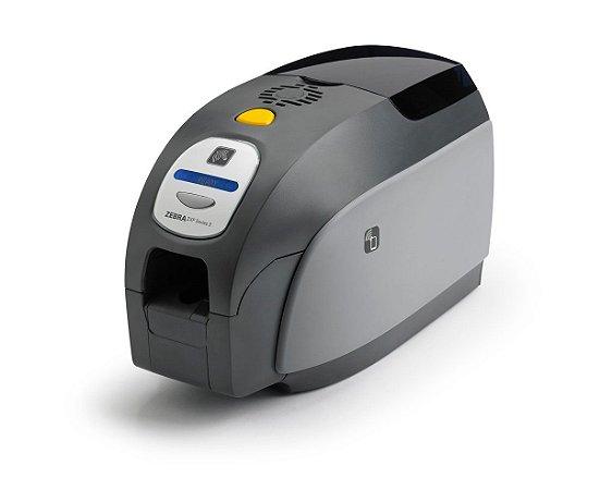 Impressora De Crachá Zebra ZXP3 Dual