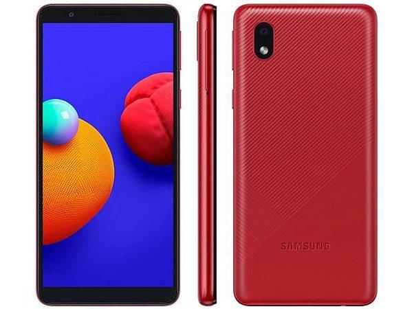 Smartphone Samsung  A01 core 32GB processador Quad core 2GB RAM- Vermelho