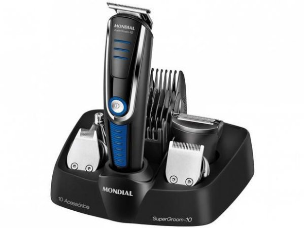 Barbeador e Aparador de pelos  Mondial-BG-03