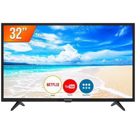 TV LED 32'' HD Panasonic smart  2 HDMI 2 USB Wi-Fi Conversor Digital-32FS500B