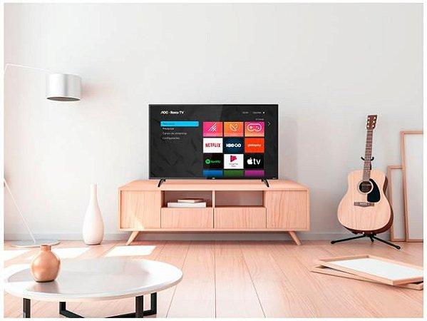 "TV Full HD LED 43"" AOC smart  Wi-Fi 3 HDMI 1 USB-43S5195"