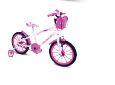 Bicicleta  Gool Bike Kid Alive Aro 16 infantil com rodinhas- Branca alok