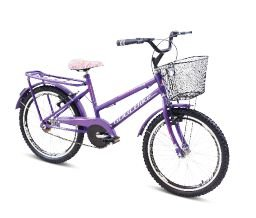 Bicicleta Gool Bike Polly Aro 20 Infantil C/ aero- Violeta