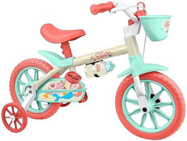 Bicicleta Nathor  Sea Infantil Aro 12 Feminina
