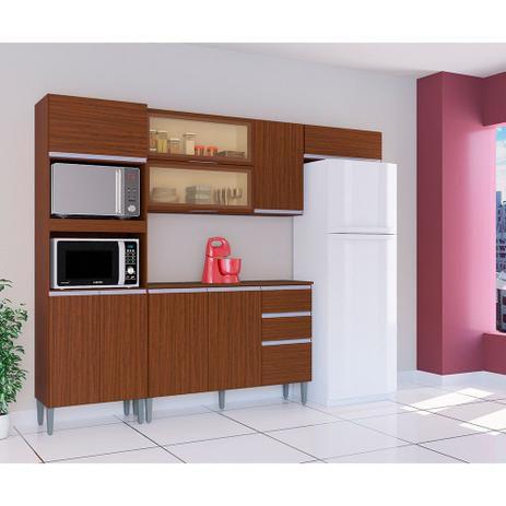 Armário de cozinha Poquema Aline- Cappucino