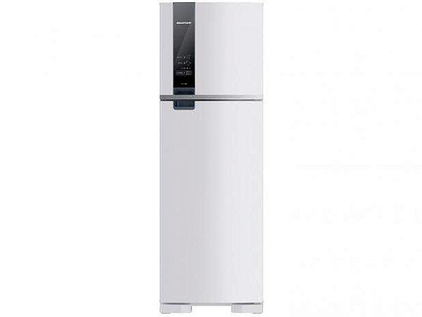 Refrigerador Brastemp Frost Free Duplex 400 Litros painel digital Branca-BRM54