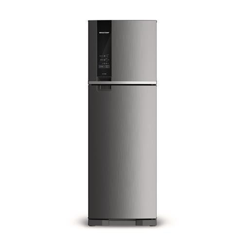 Geladeira Brastemp Frost Free Duplex 400 Litros Inox BRM54